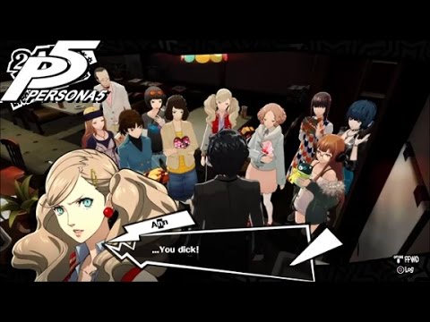 Persona 5: Clearly the Greatest Valentine