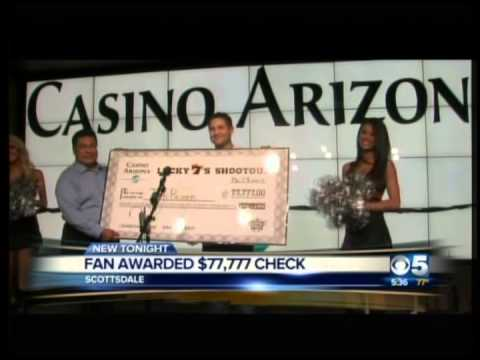 Casino Arizona Lucky 7's Shootout Check Presentation on ABC15