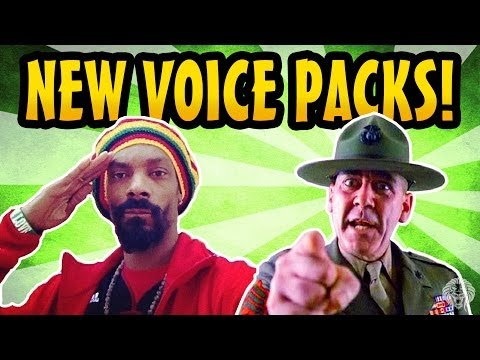 COD Ghosts: 2 New Voice Packs! Snoop Dogg & Drill Instructor Gameplay Audio (Ghost Micro DLC)
