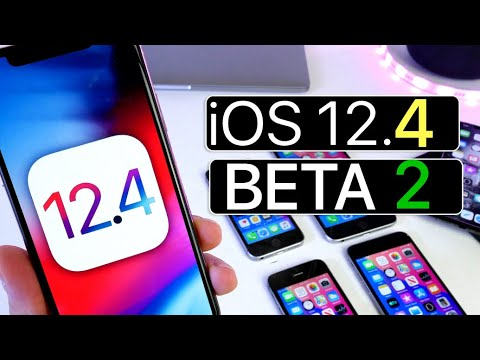 iOS 12.4 Beta 2 is out With Better Performance
