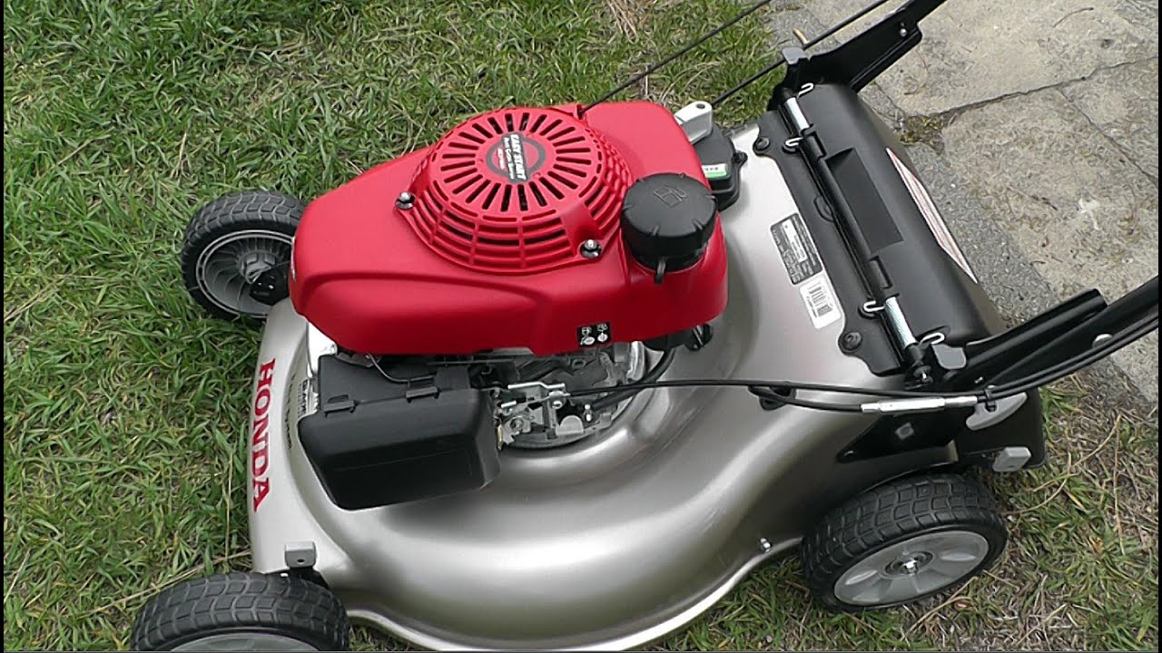 Unboxing my new Honda Lawn Mower will it Start? - YouTube