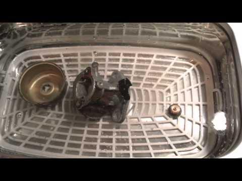 harbor freight ultrasonic cleaner carburetor test model 95563