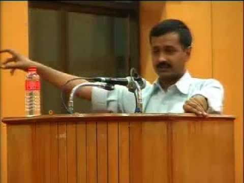 Can Jan Lokpal Bill End Corruption realistically? - Arvind Kejriwal at IIT Chennai - Good Speech klip izle