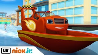 Blaze and the Monster Machines | Axle City Grand Prix | Nick Jr. UK