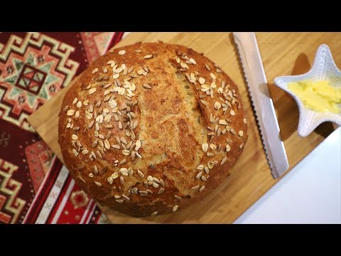 Honey Oat Bread Recipe - Heghineh Cooking Show