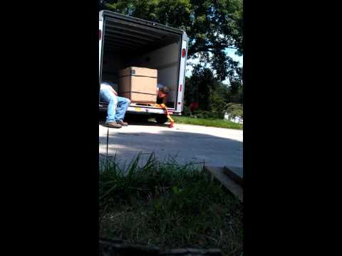 Forearm Forklift and two 110lb weaklings moving 535 lbs