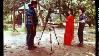Shoot time new bengali vedio album Director--Dibyendu Das(Deep)actor- PUJA andSAHEB