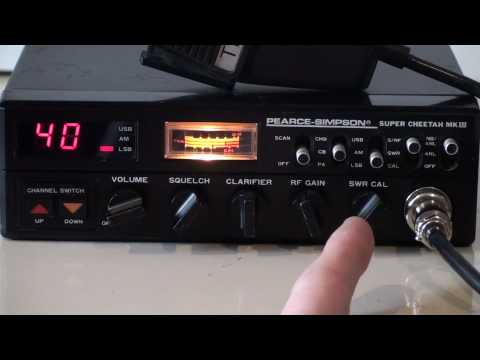 27MHz PEARCE SIMPSON SUPER CHEETAH MKIII CB RADIO