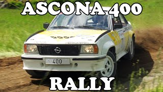 Opel Ascona 400 Rallying!