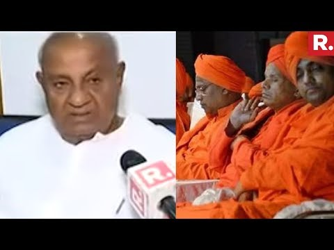 HD Deve Gowda Speaks To Republic TV On Lingayat Politics | EXCLUSIVE