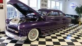 1951 Mercury For Sale~Dropped & Chopped~Leather~Air Conditioning~Over The Top!