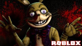 I FOUND SPRING BONNIES SECRET KILL ROOM | Roblox Five Nights At Freddy's VR: Help Wanted