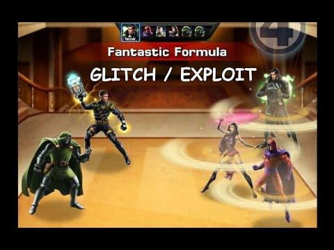 Marvel Avengers Alliance: Fantastic Formula PvP Exploit