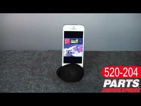 Sound EGG Audio Booster and Stand for iPhone 5