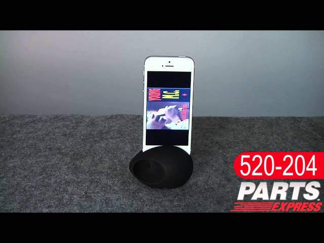 Sound EGG Audio Booster and Stand for iPhone 5 Video