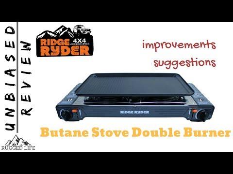 Ridge Ryder Butane Stove Double Burner Review