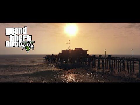 Grand Theft Auto V - PC Beautiful Landscape
