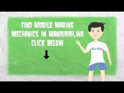 How to find mobile marine mechanics in Mandurah, WA