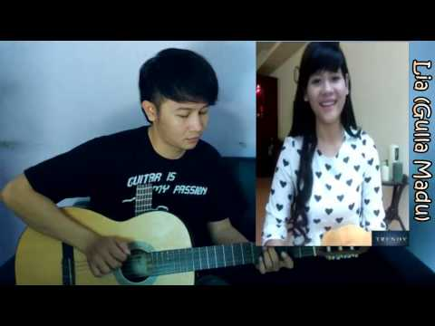 (Superman Is Dead) Sunset Di Tanah Anarki - Lia Gulla Madu & Nathan Fingerstyle