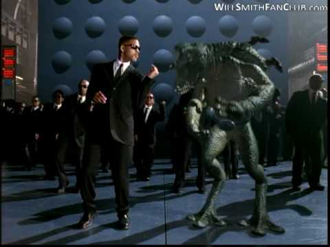 Will Smith - Men in black (HQ) klip izle