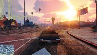 GRAND THEFT AUTO V | GTX TITAN X SLI | 1920X1080 HD | FRAME PERFORMANCE | PART 6