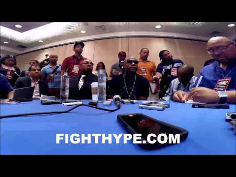 FLOYD MAYWEATHER EXPLAINS WHY MARCOS MAIDANA IS GETTING A REMATCH IM FIGHTING THE CRITICS
