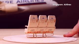 Designer Creates an Aircraft from Envelope Pieces!