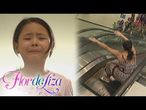 FlordeLiza: Escalator Accident