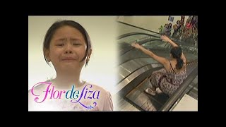 FlordeLiza: Escalator Accident