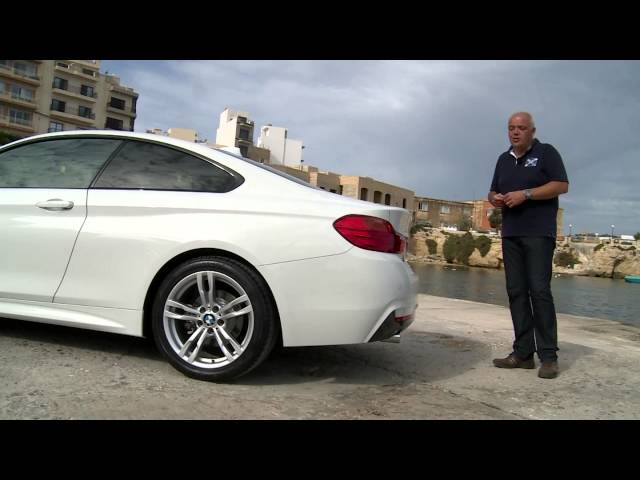 BMW 4 series test drive - YouTube