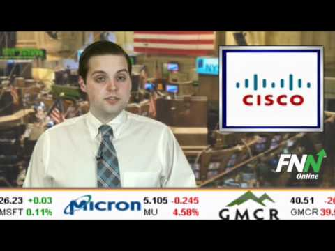 Citigroup Upgraded Cisco Systems To Buy, Lifted Its PT To $22