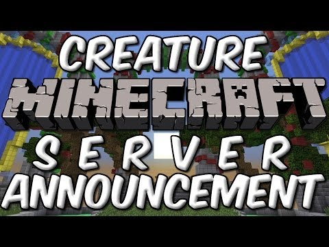 Creature Minecraft Server Beta Announcement!