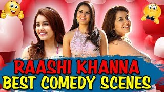 Raashi Khanna Best Comedy Scenes | South Indian Hindi Dubbed Best Comedy Scenes