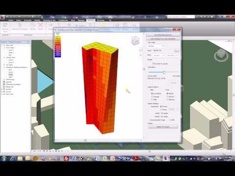 Solar Radiation in Early Concept Design - Revit Architecture 2010