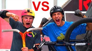 PRO SCOOTER VS PRO BIKE! *ULTIMATE BATTLE*