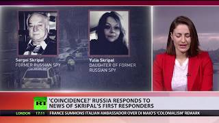 Skripal saga: Russia questions 'coincidence' first responder was military doctor