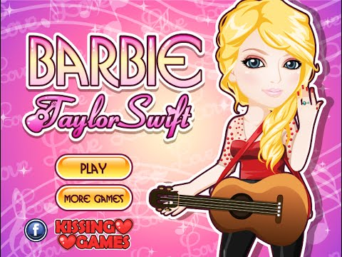 Celebrity Games- Barbie Taylor Swift- Fun Online Dress Up Fashion Games for Girls Teens