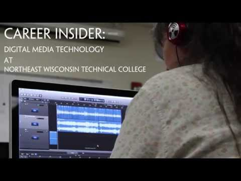 Career Insider: Digital Media Technology at Northeast Wisconsin Technical College