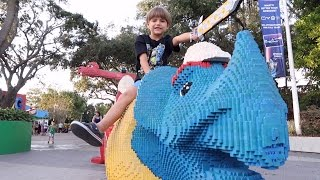 Lego Toys Shopping - Legoland Last Fun Video