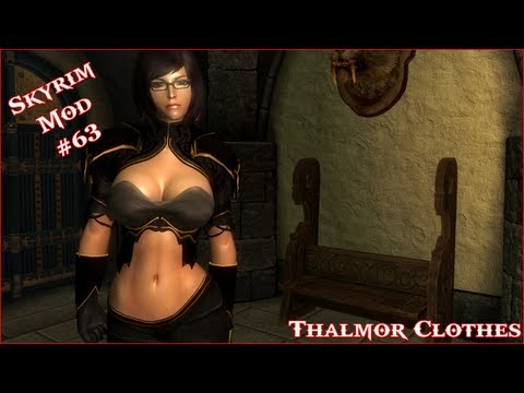 The Elder Scrolls V: Skyrim - Thalmor Clothes CBBE Mod