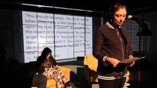 "Revolution Tour @ Backa Teater, Nabila Abdul Fattah - ""Avsändare"""
