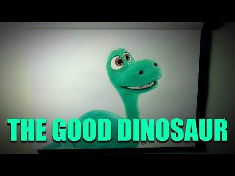 Speed Drawing: The Good Dinosaur