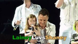 Download Lagu Westlife Croke Park 2010 Kids on stage!Nicole, Patrick and baby Shane Filan & Rocco and Jay Byrne Gratis STAFABAND