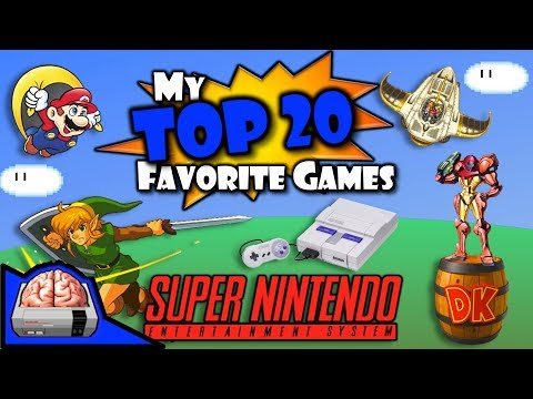 My Top 20 Super Nintendo Games (#20-11)