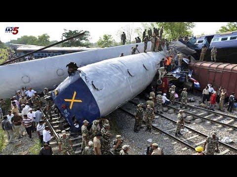 2 Trains Collided | Train Accident In Gorakhpur | Uttar Pradesh : TV5 News