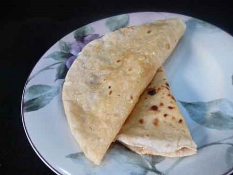 Roti or Chapati or Rotli Recipe - Indian Flatbread