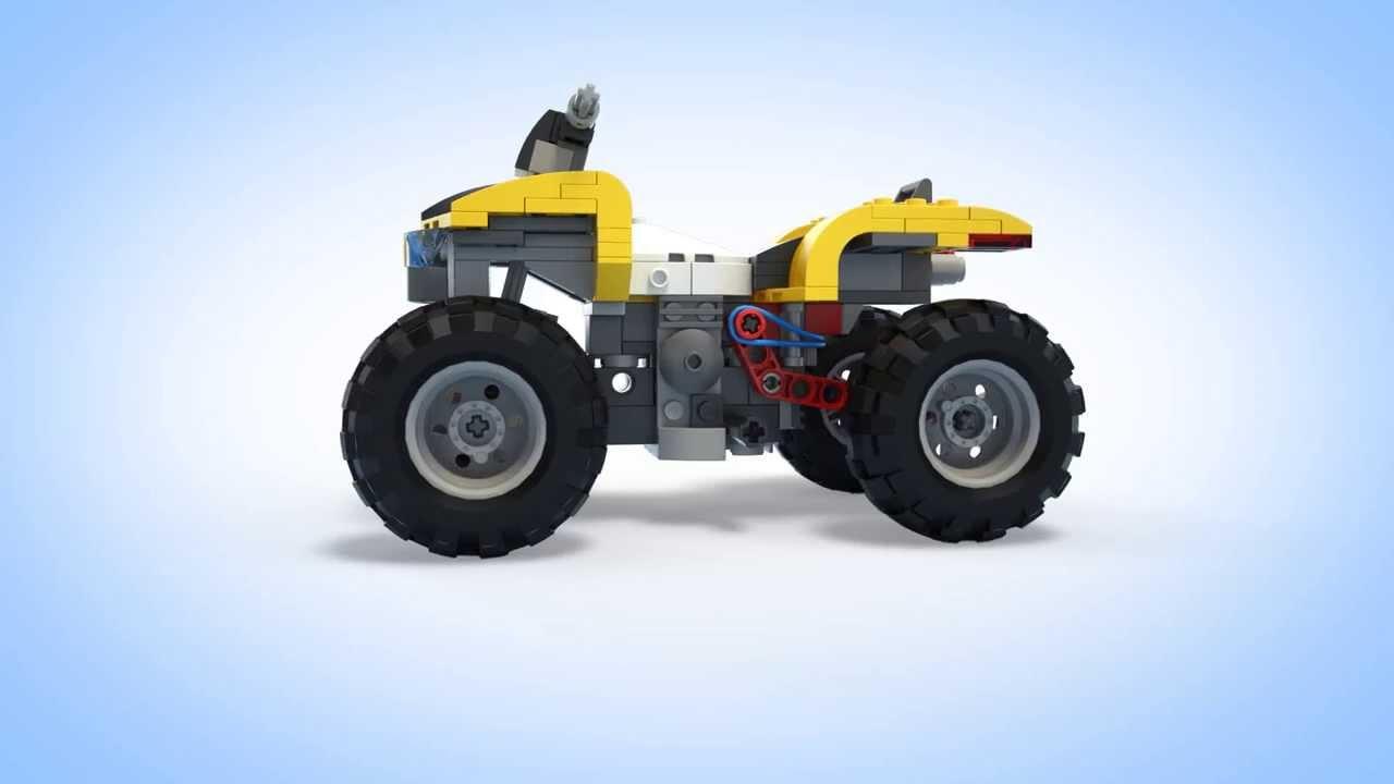 177Квадроцикл  из лего