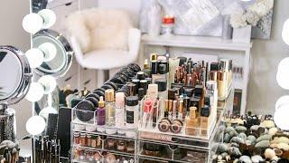 My Makeup Collection & Organization 2018   RositaApplebum