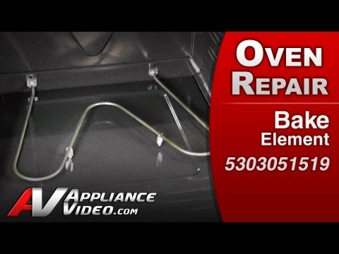 Bake Element replacement  - Stove. Oven or Range Repair Electrolux. Frigidare