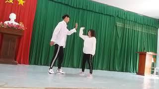 Trường Phan văn hoà/ Nhảy hiện đại -BÙI NGÂN#THANH PHƯƠNG